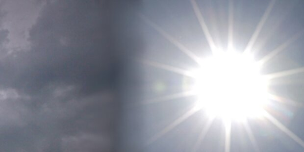 Sonne und Regen am Pfingst-Wochenende