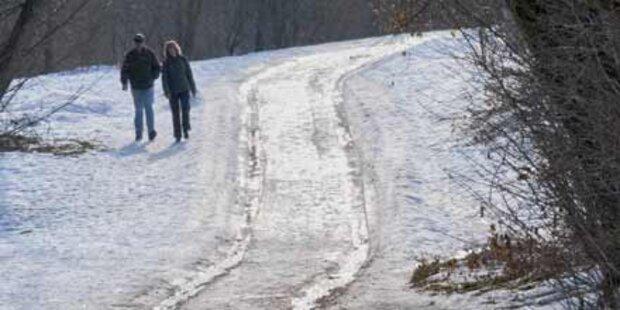 Es wird kühler: Der Winter kehrt zurück