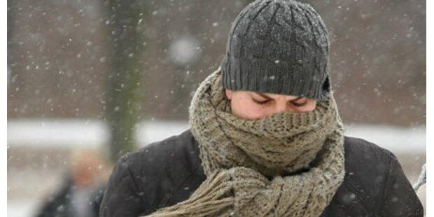 Es bleibt winterlich in Österreich