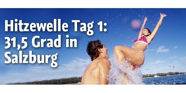 Erste Hitzewelle, kalte Seen in Österreich
