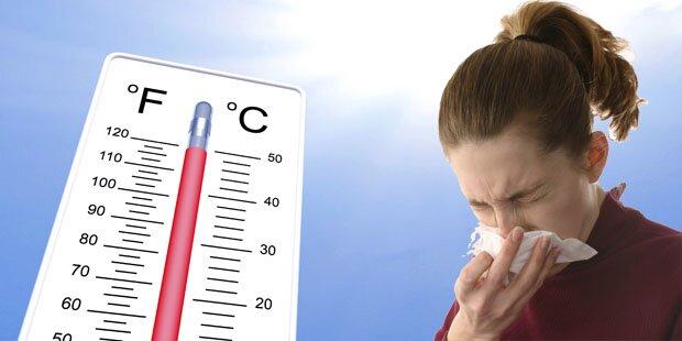 Darum macht uns das Wetter jetzt krank