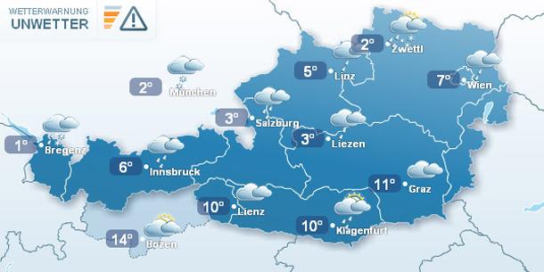 Wetterkarte