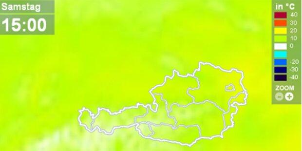 20-Grad-Marke in Neusiedl geknackt