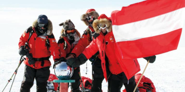 Maier & Co. gewannen Wettlauf im Eis