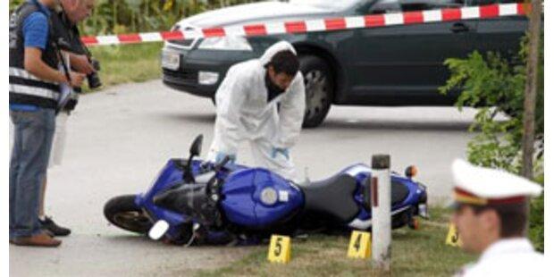 Polizei unter Druck nach Todeskugel für Biker