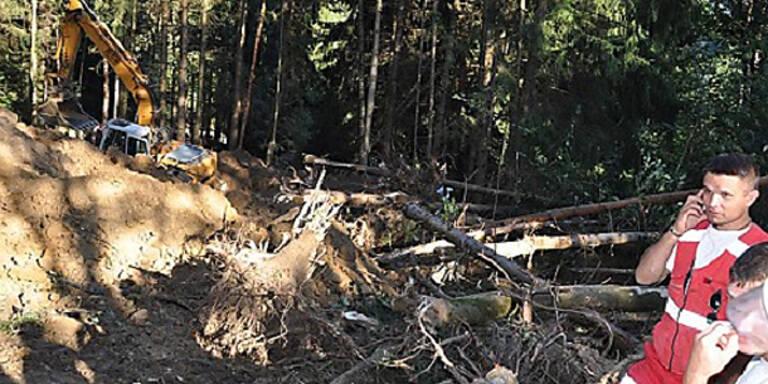 Zwei Arbeiter im Waldviertel verschüttet