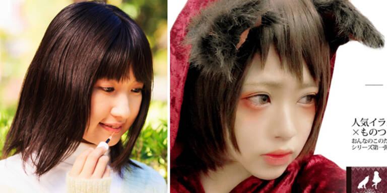 """""""Grippe-Look"""": Schräger Beauty-Trend aus Japan"""