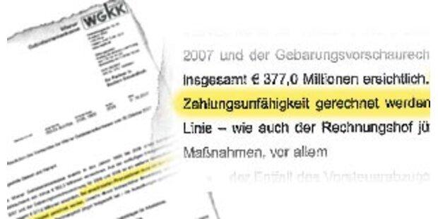 Wiener Gebietskrankenkasse ist pleite