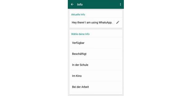 whatsapp status schule