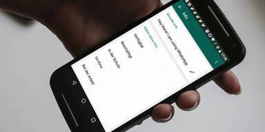 Trick bringt alten WhatsApp-Status vorab zurück