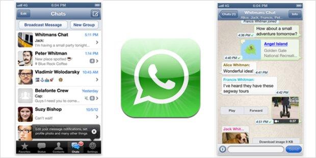 whattsapp iphone exportieren importieren kostenlos