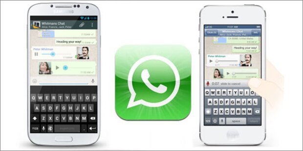 WhatsApp jetzt mit Push-To-Talk-Funktion