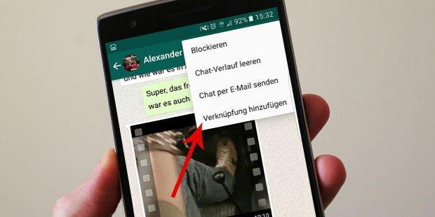 Genialer Trick für WhatsApp-Nutzer