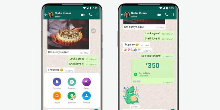 Bezahldienst von WhatsApp offiziell gestartet