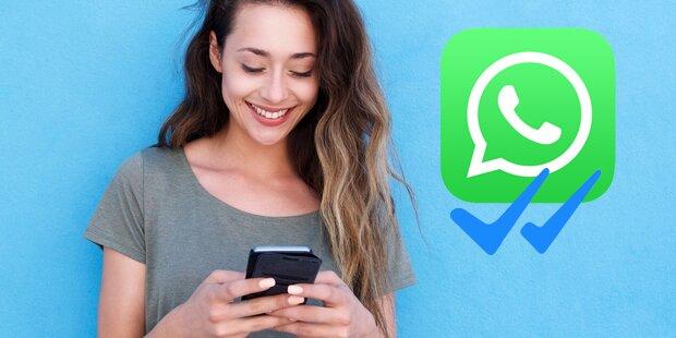 WhatsApp-Trick: Fotos ansehen ohne blaue Häkchen