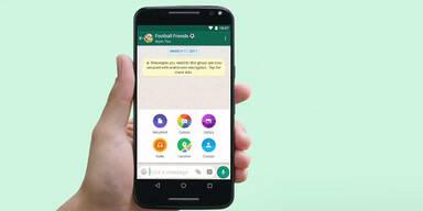 Nutzer lachen WhatsApp wegen neuer Funktion aus