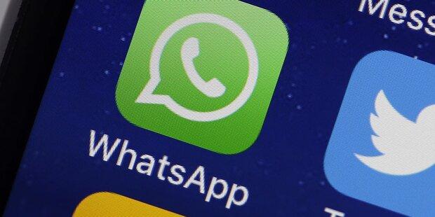 WhatsApp jetzt mit