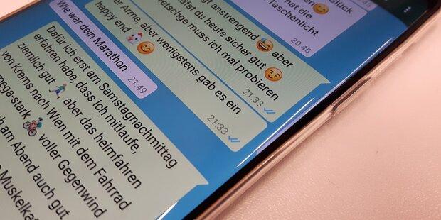 Nachrichten bei whatsapp lesen ohne online zu sein
