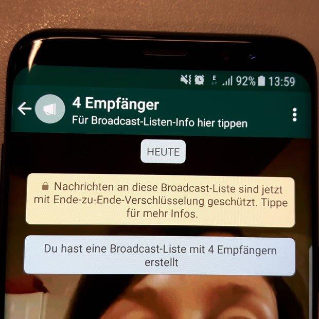 Whatsapp Nachrichten An Mehrere Kontakte Senden Genialer Trick