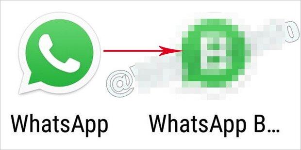 So sieht das neue WhatsApp-Logo aus