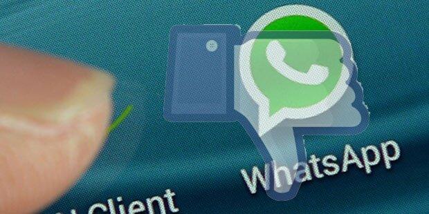 Nur WhatsApp versagte total