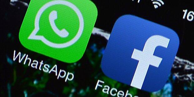 EU-Rüge für Facebook & WhatsApp