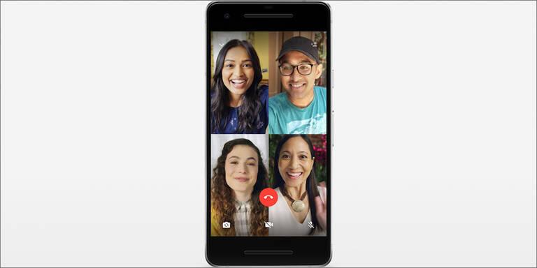 WhatsApp jetzt mit Videochats für Gruppen