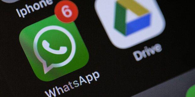 WhatsApp schützt bald vor peinlichen Foto-Pannen