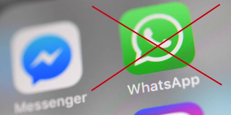 WhatsApp funktioniert auf vielen Handys bald nicht mehr