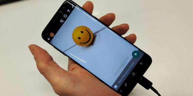 Verwenden Sie besser NIE die WhatsApp-Kamera