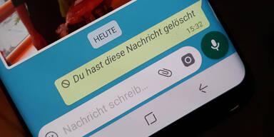 WhatsApp: Lösch-Trick sorgt für böses Erwachen