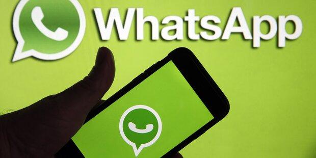 WhatsApp-Fotos können abgefangen werden