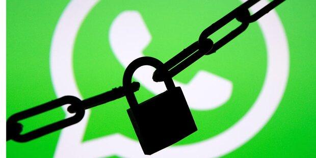 WhatsApp ab sofort noch sicherer