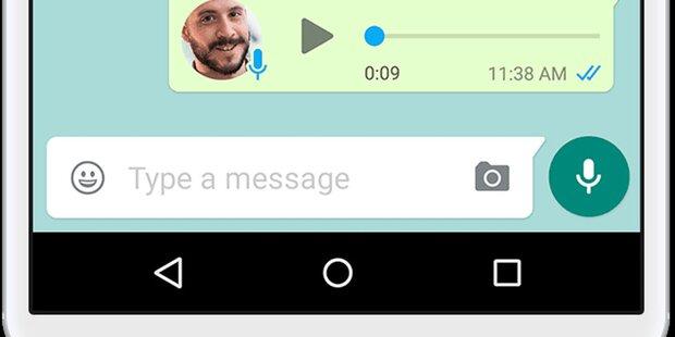 WhatsApp: Geniale Funktion für Sprachnachrichten