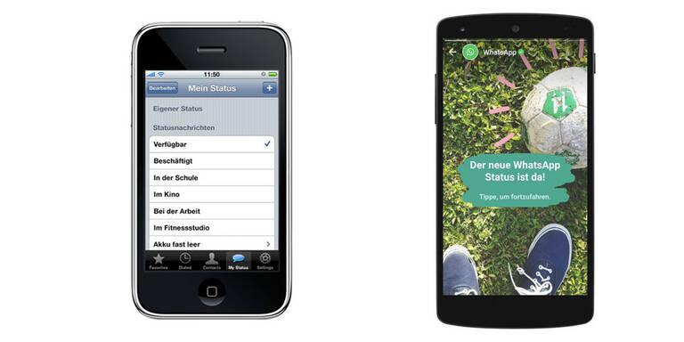 Alter Whatsapp Status Schlechte Nachricht Für Iphone User