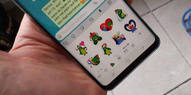 WhatsApp jetzt auch bei uns mit Sticker