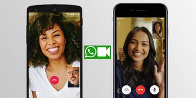 WhatsApp ab sofort mit Videoanrufen