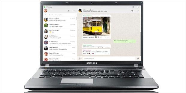 WhatsApp startet Apps für Windows & Macs