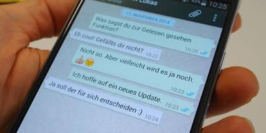 WhatsApp zeigt noch mehr Infos