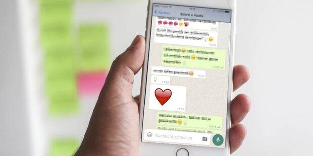 Super-Update für WhatsApp am iPhone