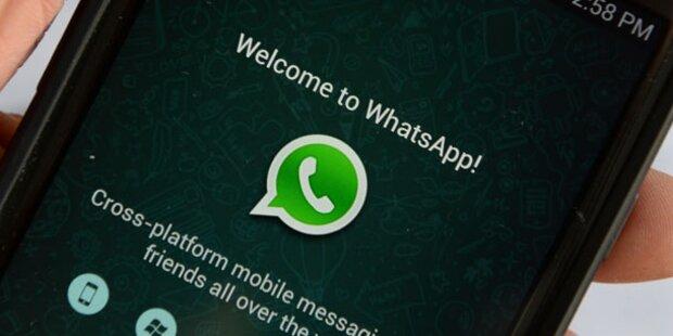 WhatsApp-Virus legt Smartphone lahm