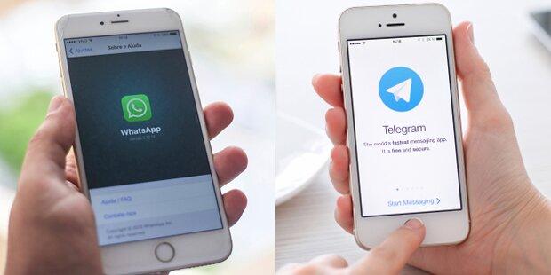 Wird WhatsApp vom Thron gestoßen?