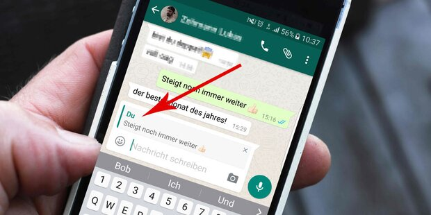 WhatsApp jetzt mit neuer Top-Funktion