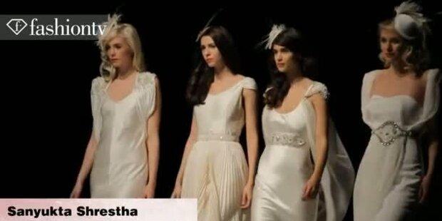 Brautmodenschau für die Hochzeit in 2012