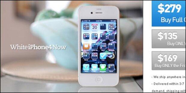 Weißes iPhone 4: Teenager sahnt ab