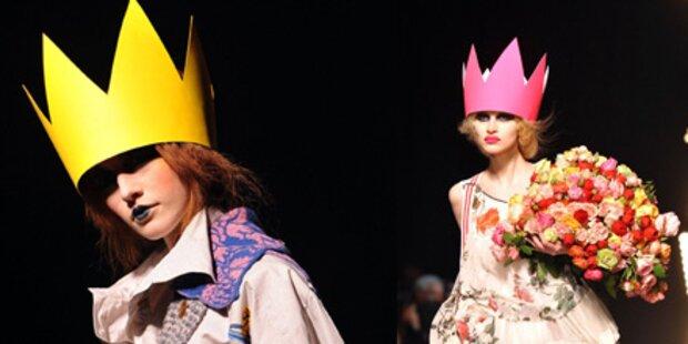 Die Krone der Fashion-Schöpfung in Paris