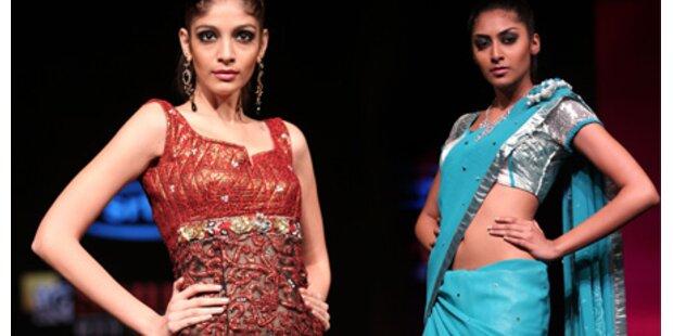 Indische Fashion: Glanz und Glitzer