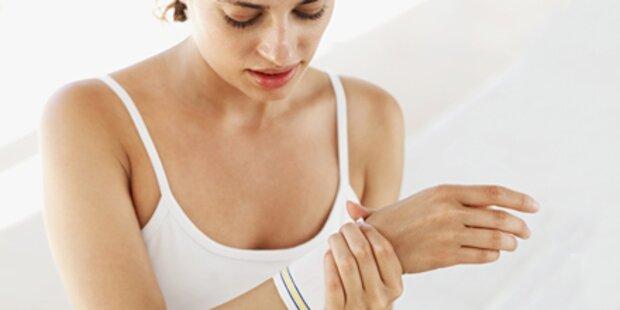 Topfenwickel gegen Entzündungen
