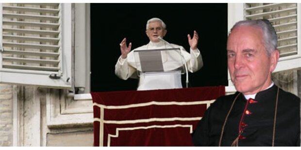 Papst fordert Williamson offen zum Widerruf auf