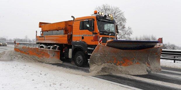 Schnee- und Sturmwarnung für Österreich